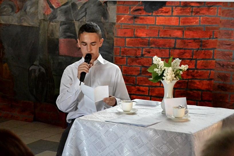 Spotkanie z historią i Baczyńskim - foto: A. Wszędybył