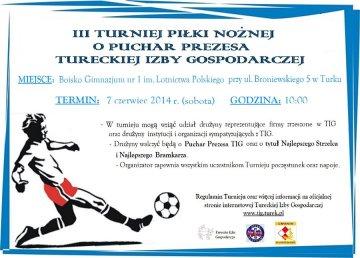 Zagraj o Puchar Prezesa Tureckiej Izby Gospodarczej!