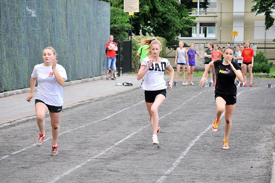 Lekkoatletyka królowała w liceum - foto: M. Derucki