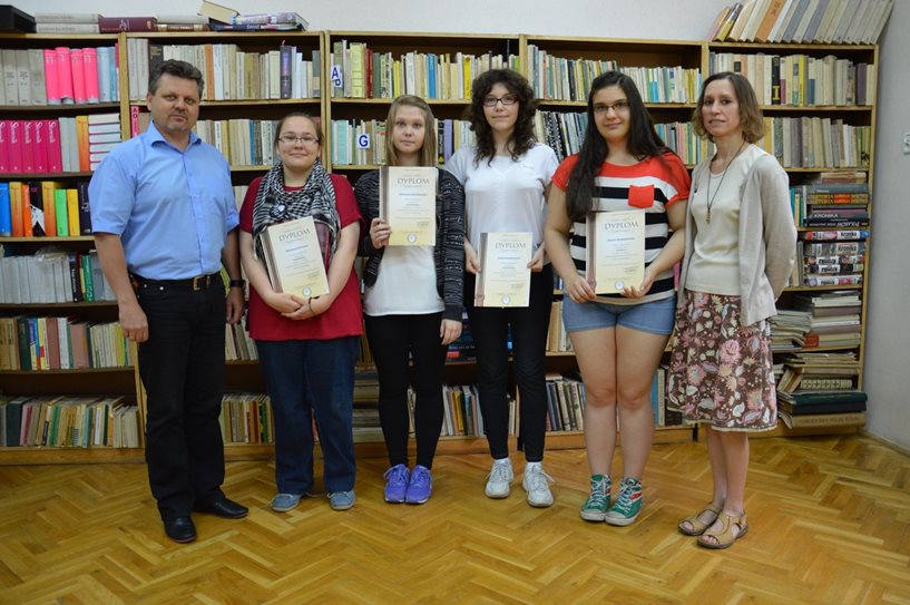 Uczennica Gimnazjum nr 2 z tytułem Laureata konkursu Albus 2014