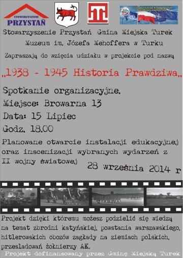 Weź udział w instalacji 1938-1945 Historia Prawdziwa
