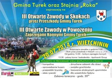Zapraszamy do Wietchinina na zawody konne!