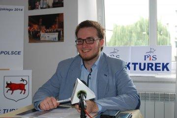 Filip Nowakowski będzie startował na radnego