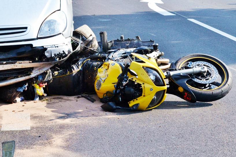 Z ostatniej chwili: Wypadek motocyklisty pod Galewem