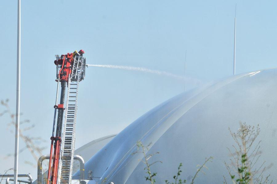 Psary: Ćwiczenia w Elektrowni Biogazowej - Foto: M. Derucki