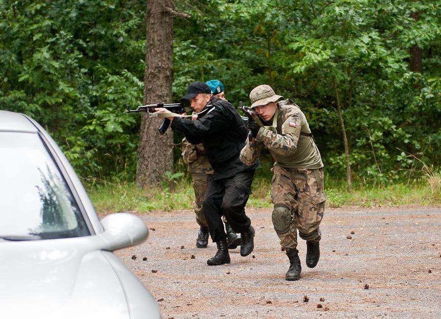 ZSR: Szkolenie bojowe w Orzyszu - foto: archiwum szkoły