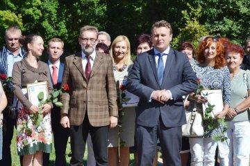 Minister wyróżnił najlepszych brudzewskich...
