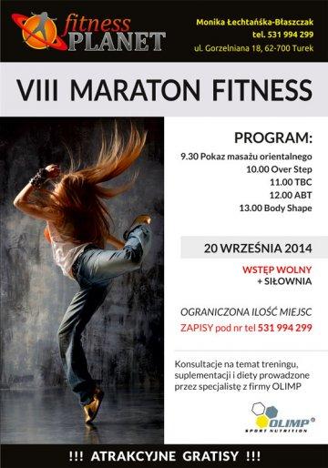 Sobota z darmowym fitnessem. VIII Maraton Fitness