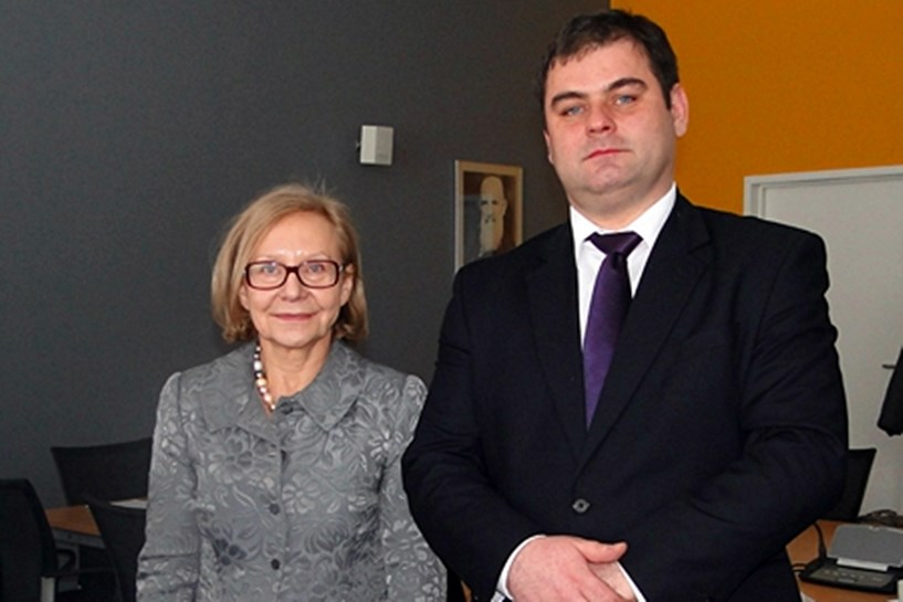 Reprezentanci ZST na konferencji AHK Polska