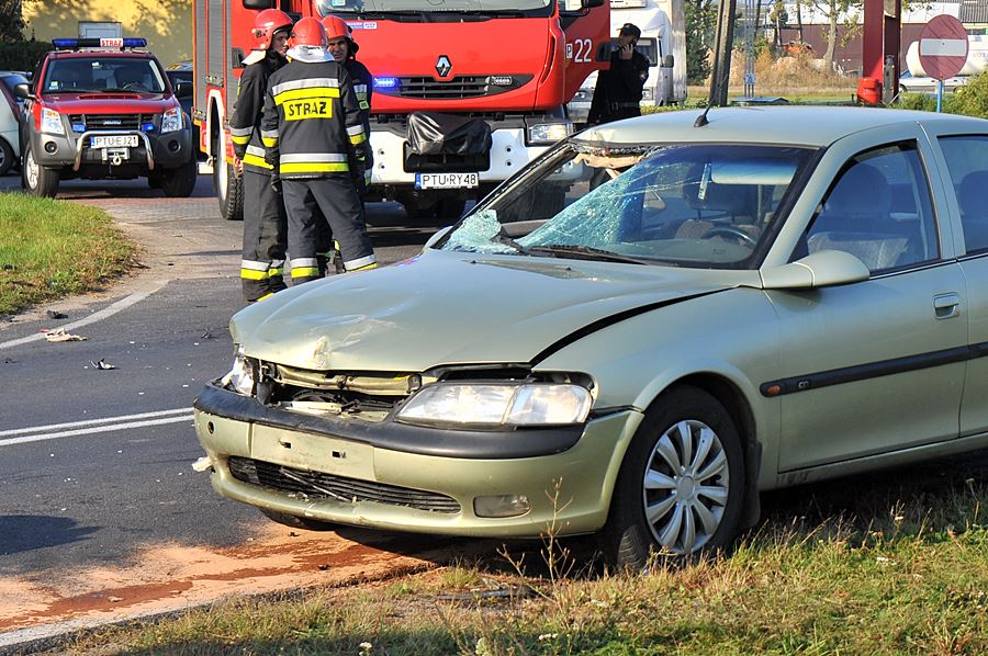 Kierowca Yamahy stracił życie przy stacji paliw