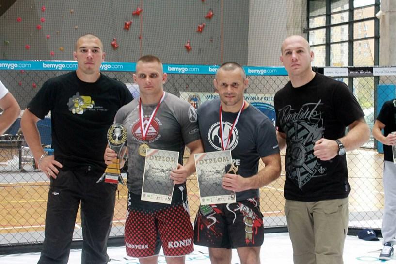 Wideo: Policjant z Turku mistrzem MMA - foto: fanpage Mistrzostwa Polski Służb Mundurowych w MMA na facebook.com