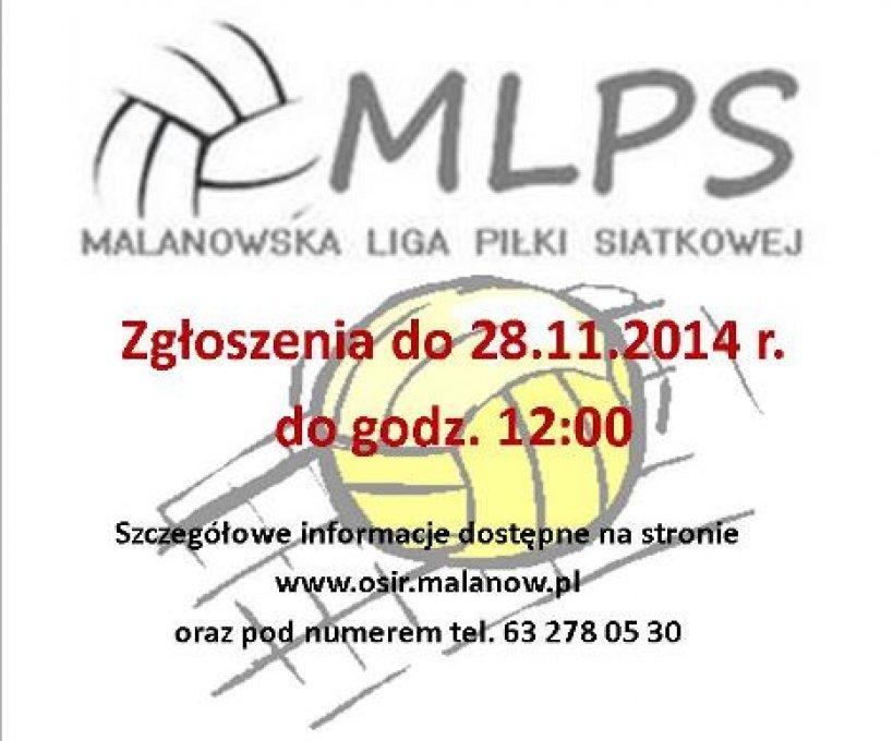 Malanowska Liga Piłki Siatkowej