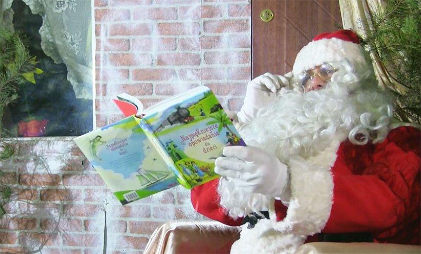 Wideo: Św. Mikołaj zaprasza wszystkie dzieci