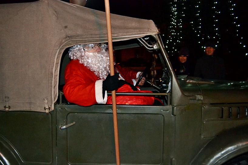 Tuliszków: Mikołaj przyjechał Gazikiem