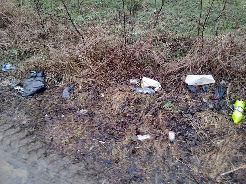 Krajówka zmodernizowana, ale kto teraz posprząta? - foto: arch. prywatne