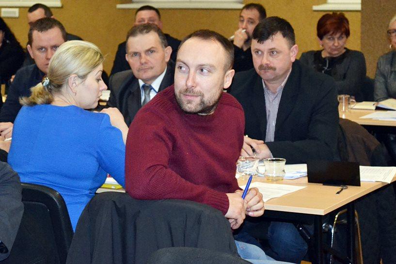 Nycek pytał, po co mu radna powiatowa Gruszczyńska?