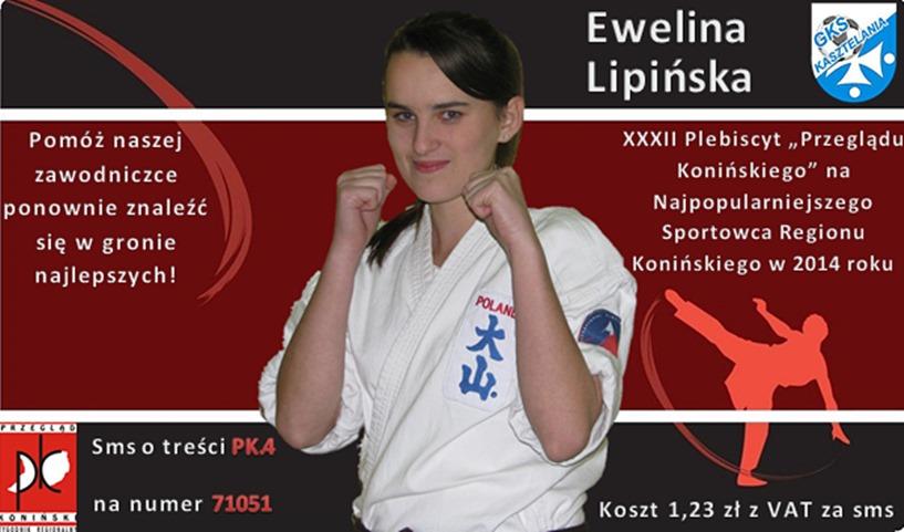 Cały Brudzew głosuje na Ewelinę Lipińską - foto: www.brudzew.pl