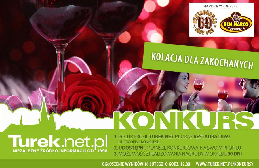 KONKURS: wygraj romantyczną kolacje we dwoje w 69
