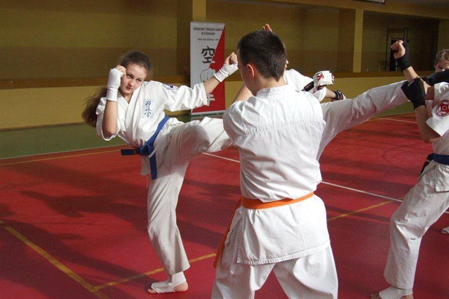 Karate: Zgrupowanie w Kaczkach