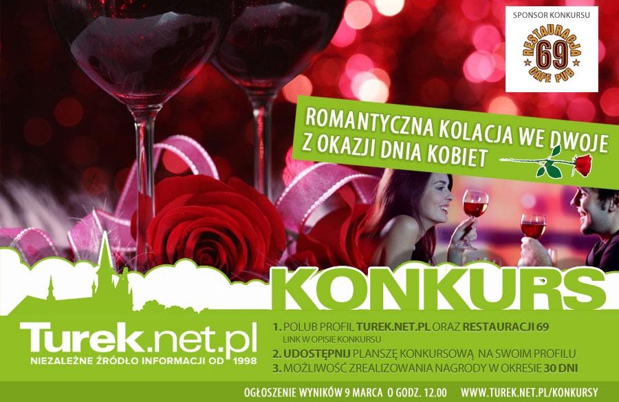 KONKURS: wygraj romantyczną kolacje z okazji Dnia Kobiet