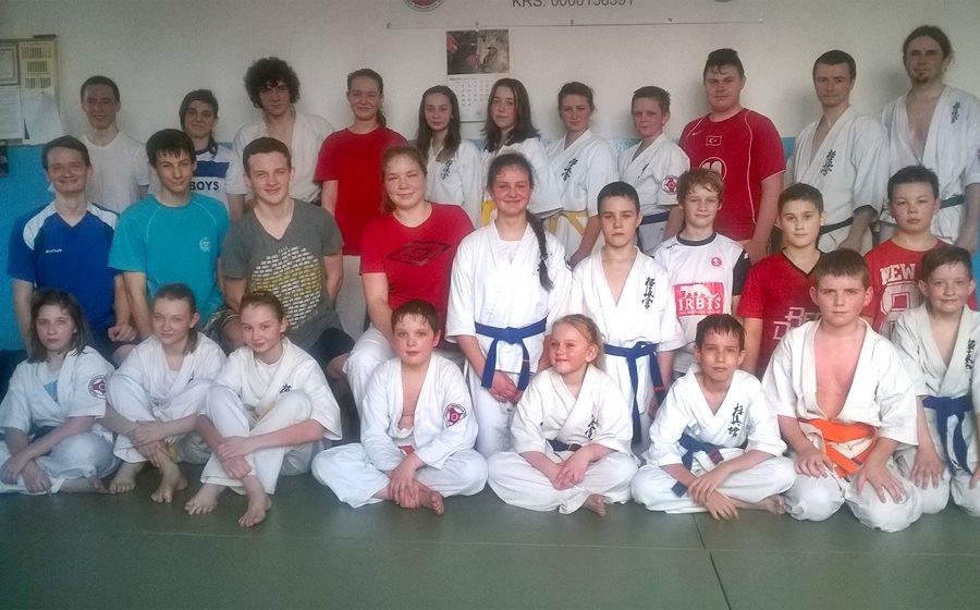 Karate: Zgrupowanie kadry Klubu Sportów i Sztuk Walk
