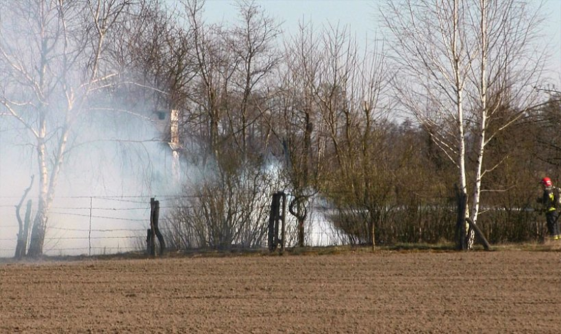 Wideo: Drewniany domek doszczętnie spłonął