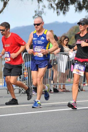 Poleciał do Los Angeles, by przebiec maraton - foto: archiwum prywatne