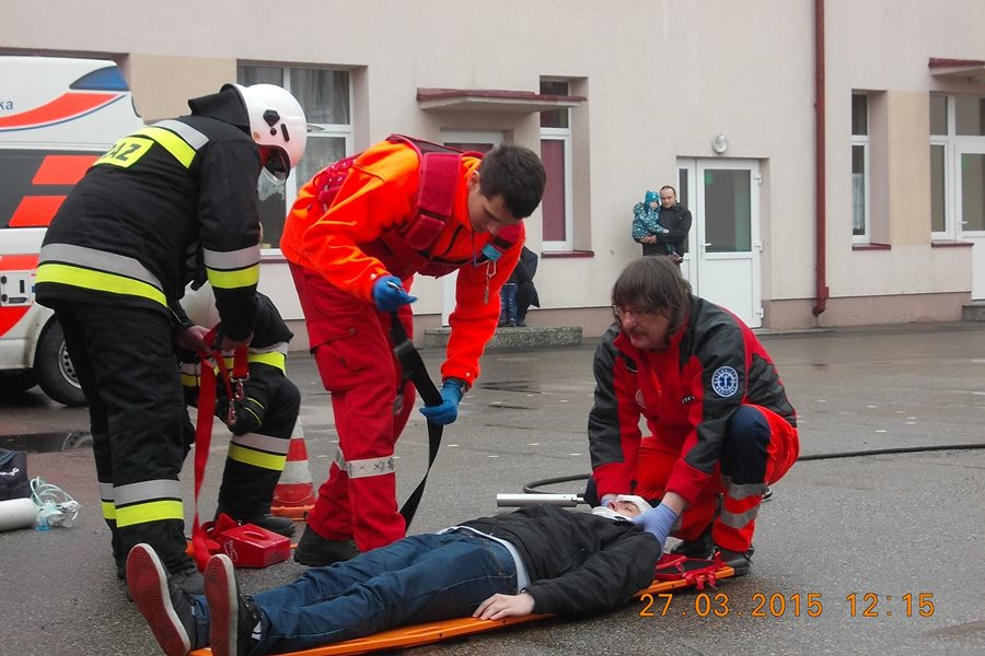Przedszkolaki świadkami ratowania życia