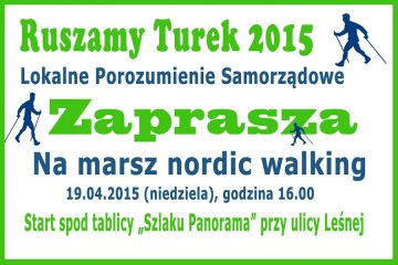 Integracyjny marsz nordic walking z LPS