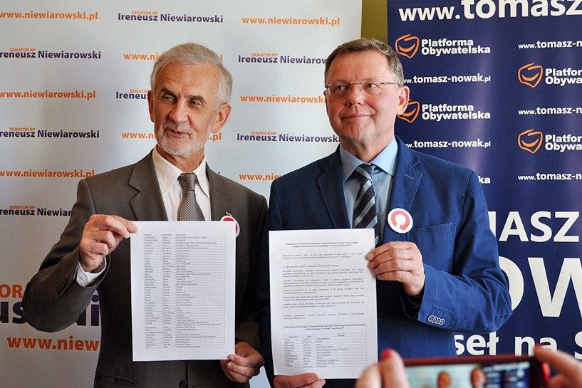 Czapla, Nowak, Mikołajczyk i inni popierają Komorowskiego