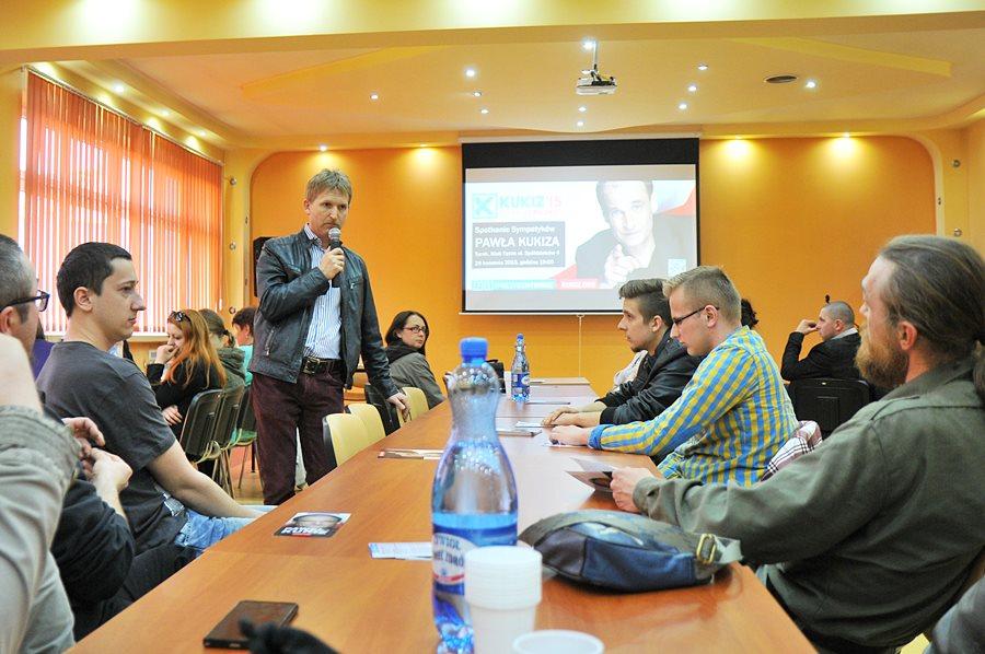 Sympatycy Kukiza o JOW-ach i potrzebie zmiany systemu - foto: M. Derucki