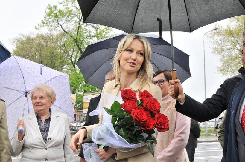 Wideo: Magdalena Ogórek w końcu dotarła do Turku