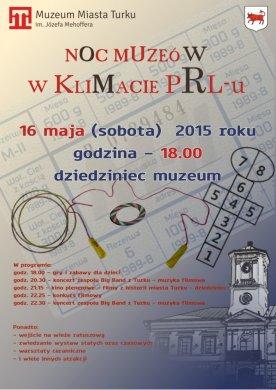 Noc Muzeów w klimacie PRL-u