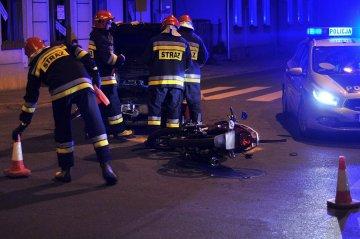 Wideo: Jechał Junakiem, ucierpiał na skrzyżowaniu