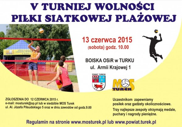 V Turniej Wolności Piłki Siatkowej Plażowej