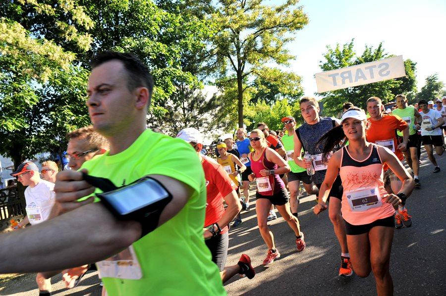 Bieg w Wyszynie jak przez Saharę - foto: E. Derucka