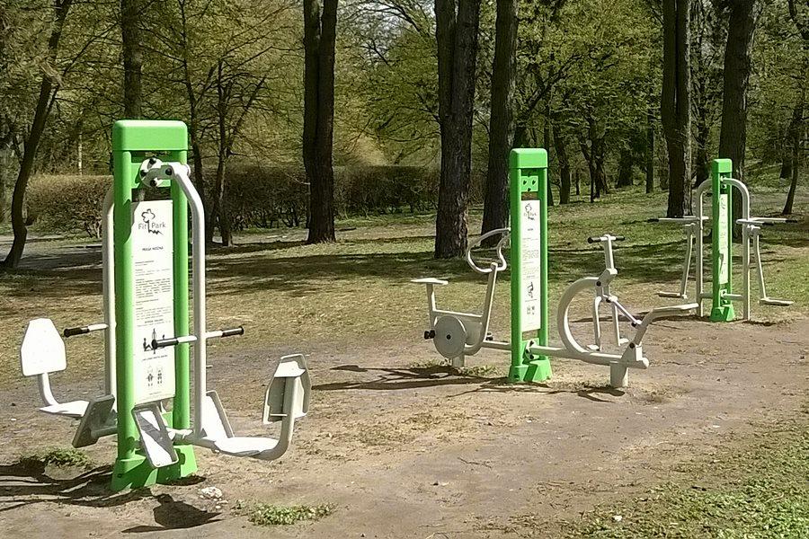 Fit Park. Dobry pomysł dla aktywnych? - foto: Joanna Kośmider / wikimedia.org