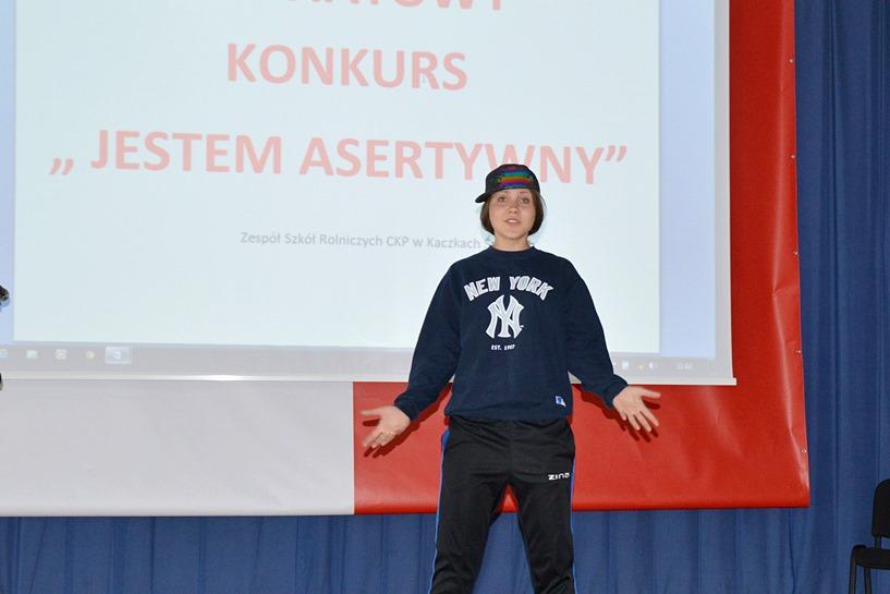 Uczniowie ZSR, ZST i Gim. w Słodkowie udowodnili swoją asertywność