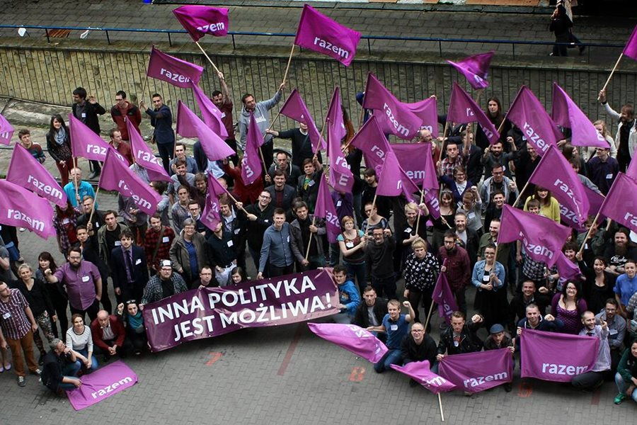 Nowa lewicowa partia zwiera szeregi w regionie - foto: partiarazem.pl