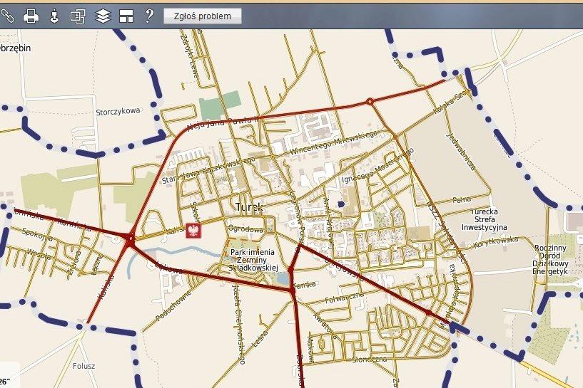 Plany przestrzenne na e-mapie
