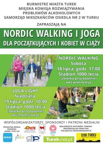 Nordic walking i joga na Stadionie 1000-lecia