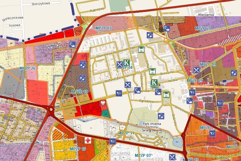 Plany na e-mapie