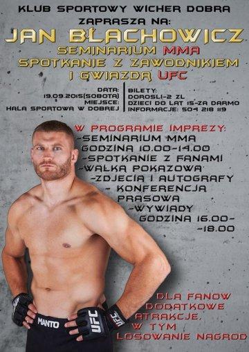 Dobra: Mistrz poprowadzi seminarium MMA