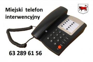 Interwencje miejskie na telefon