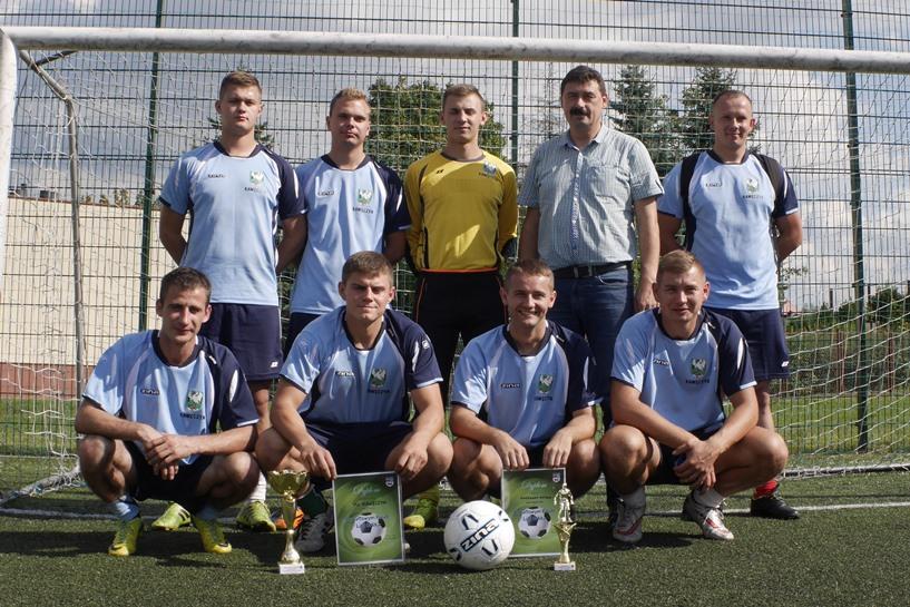 Gracze FC Kawęczyn Mistrzami Powiatu! - foto: M. Jarek