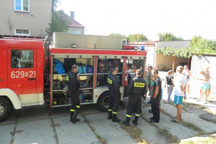 Strażacy-ochotnicy gotowi na ratowanie domu dziecka