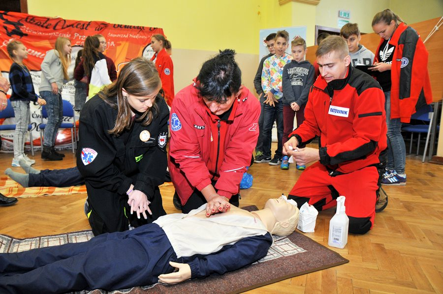 Wspólnie biliśmy rekord w ratowaniu życia - foto: M. Derucki