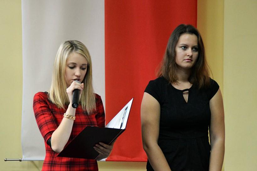 W ZST pieśnią i wierszem uczcili Święto Niepodległości - foto: Arkadiusz Wszędybył