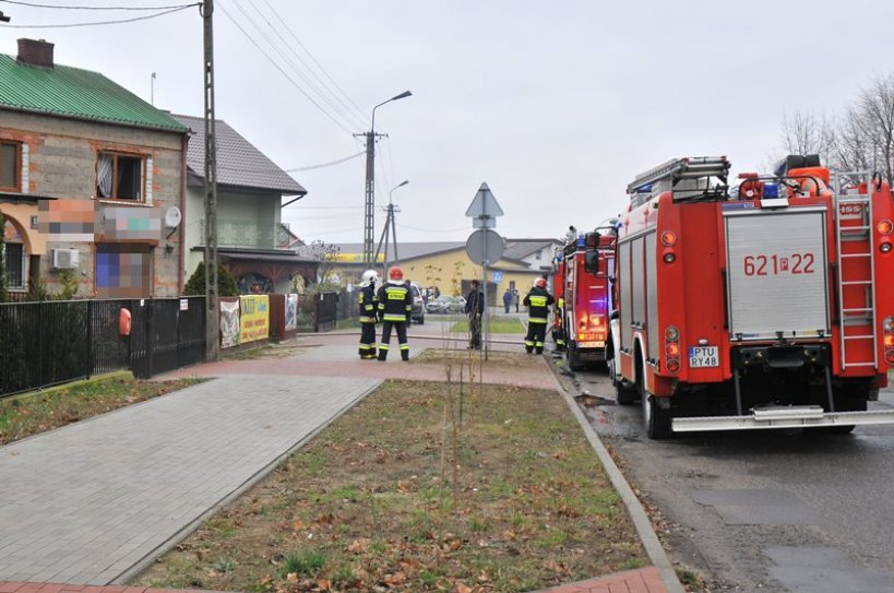 Gasili pożar w Tuliszkowie