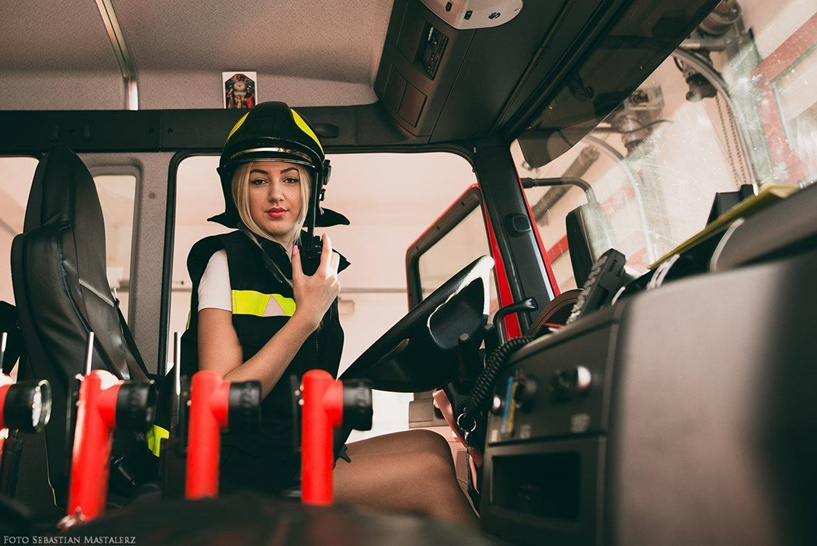 Wideo: Piękne strażaczki promują OSP. Powstaje wyjątkowy kalendarz - foto: Sebastian Mastalerz